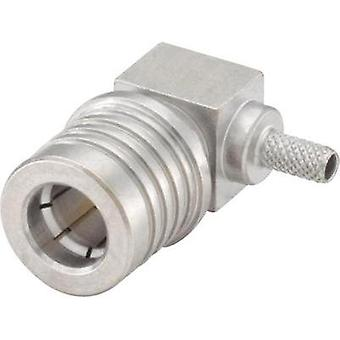 QMA connector Plug, right angle 50 Ω Rosenberger 28S207-302N5 1 pc(s)