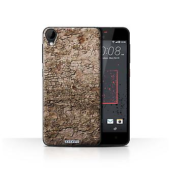 STUFF4 Case/Cover for HTC Desire 825/Cracked/Tree Bark