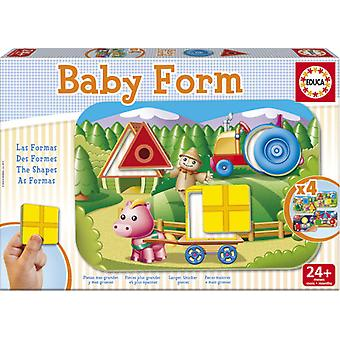 Educa Baby Form (barn, leksaker, bordsspel, pussel)