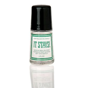 Pebble UK It Stays! Body Adhesive [Style BA01] Beige  2 Oz