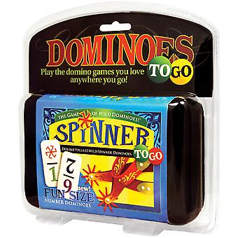 Dominoes Spinner To Go Game-  UG55002