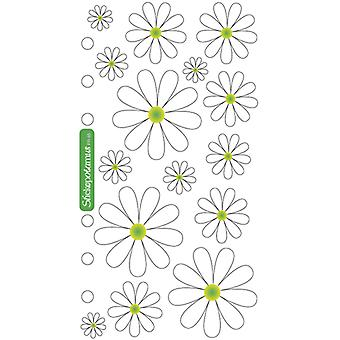 Sticko Stickers-Daisies SPPR85