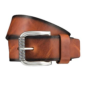 BERND GÖTZ belts men's belts leather belt Cognac 3720