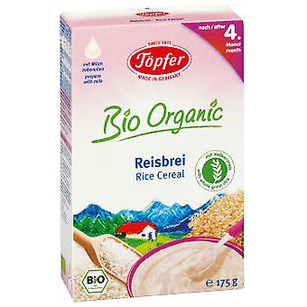 Topfer Bio Rice gruel, 175 Gr (Childhood , Healthy diet , Cereals)