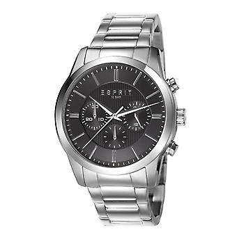 ESPRIT mens watch wristwatch relay stainless steel Chrono ES106841006