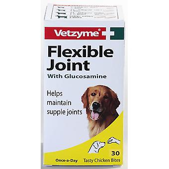Vetzyme Dog Flexible Joint With Glucosamine 30 Tablets
