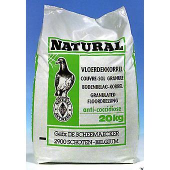 Pigeon granuleret gulv Dressing 20kg