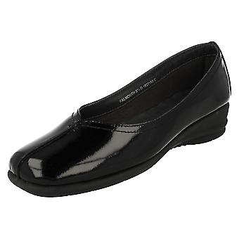 Ladies Van Dal Low Wedge Heel Smart Shoes Falmouth