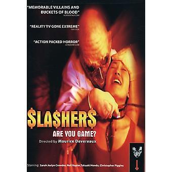 Slashers [DVD] USA importerer