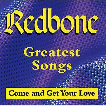 Redbone - Greatest Songs- Come Get Your [CD] USA import