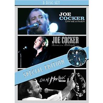 Joe Cocker - Cry Me en River/Across från midnatt tur/Live at M [DVD] USA import