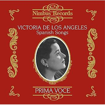 De Los Victoria Angeles - Prima Voce : Chansons espagnol [CD] USA import