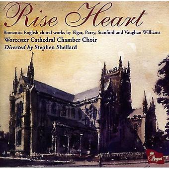 Chambre cathédrale de Worcester - montée coeur: Romantique anglais œuvres chorales [CD] USA import