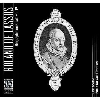 Odhecaton - Lassus: Musikalske biografi Vol.IV-den sidste år [CD] USA import