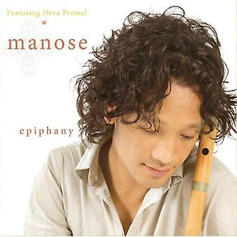 Manose - Epiphany [CD] USA importerer