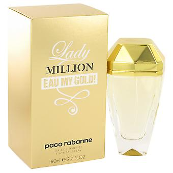 Paco Rabanne Women Lady Million Eau My Gold Eau De Toilette Spray By Paco Rabanne