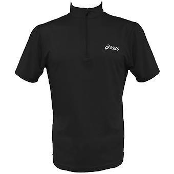 Asics Men Halbreißverschluss S-S Laufshirt schwarz - 509934-0900