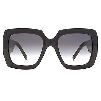 Marc Jacobs J Temple Oversize Square Sunglasses In Black