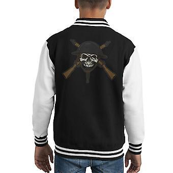 Do Your Bit On The Battlefield Kid's Varsity Jacket