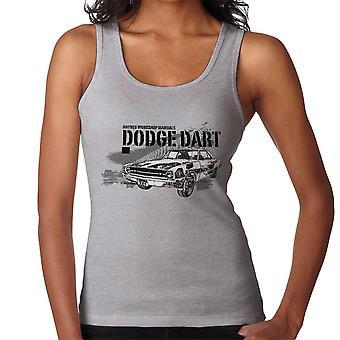 Haynes Owners Workshop Manual Dodge Dart Black Women's Vest