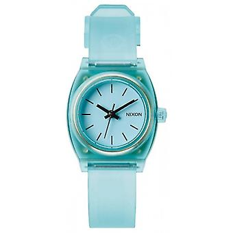 Nixon The Small Time Teller P Watch - Translucent Mint