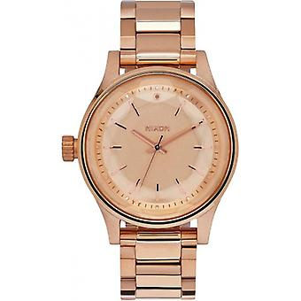 Nixon The Facet 38 Watch - Rose Gold