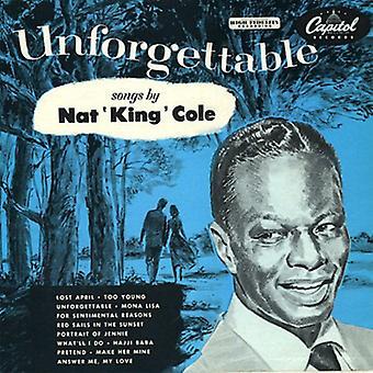 Nat King Cole - Unforgettab (import USA Cap75/LP [Vinyl]