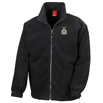 Filial för väglogistik broderad Logo - officiell Royal Air Force Full Zip Fleece
