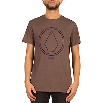 Volcom Pinline Stone korte T-Shirt van de koker