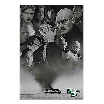 Breaking Bad - Up In Smoke Poster Poster Print by
