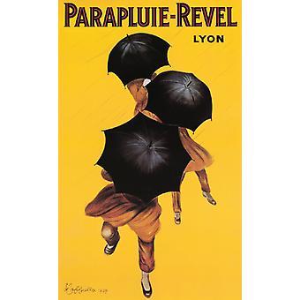 Parapluie-Revel Poster Print by Leonetto Cappiello (22 x 36)