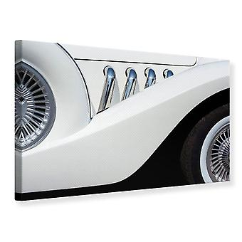 Canvas Print Close Up Oldtimer