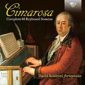 David Boldrini - Cimarosa: Complete 88 sonates [CD] USA import