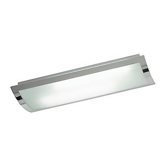 Bay indendørs Flush loftslampe - Endon 1405-67-PLCH