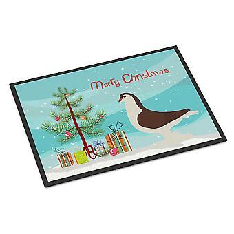 Large Pigeon Christmas Indoor or Outdoor Mat 24x36