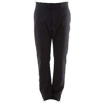 Balmain men's P0HT540 D367G176 black cotton pants