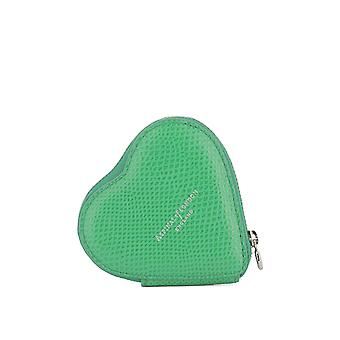 Aspinal of London ladies 039007317300000 green leather wallets