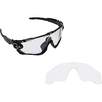 JAWBREAKER Replacement Lenses Crystal Clear by SEEK fits OAKLEY Sunglasses