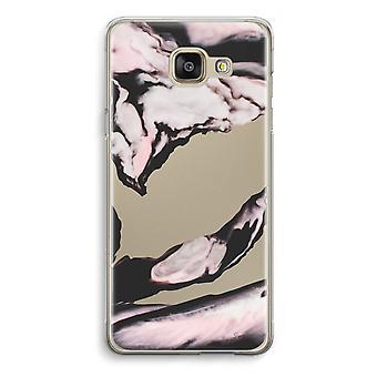 Samsung Galaxy A5 (2016) Transparent Case - Pink stream