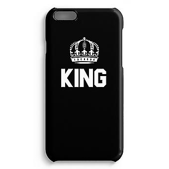 iPhone 6 Plus Full Print Case (brillant) - King noir