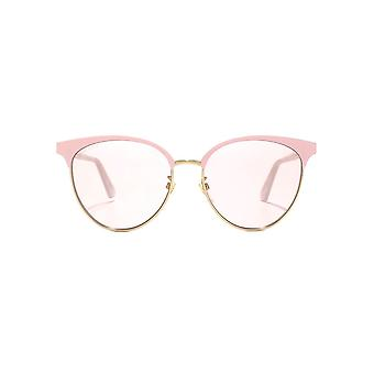 Gucci GG Metal Cateye Sunglasses In Pink