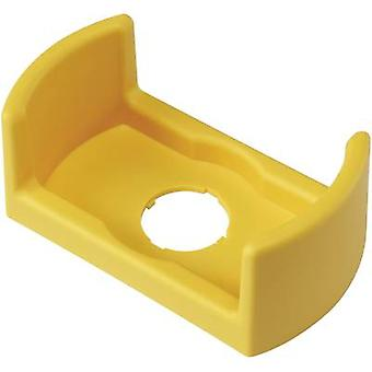 Protective collar (L x W x H) 90 x 50 x 35 mm Yellow