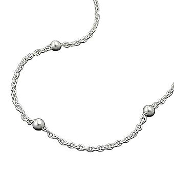 Necklace chain with balls silver 925