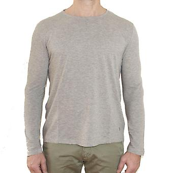 Dondup mens COSMIN902 gray cotton sweater