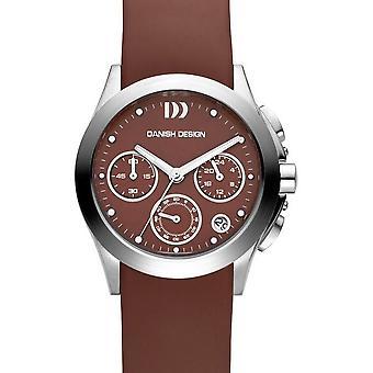Diseño danés para hombre reloj cronógrafo IV21Q981