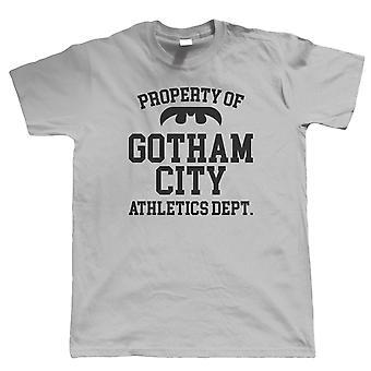 Gotham City Athletics Department, Mens Comic T Shirt