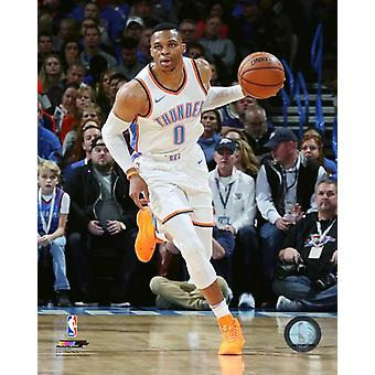 Russell Westbrook 2017-18 Aktion Fotodruck