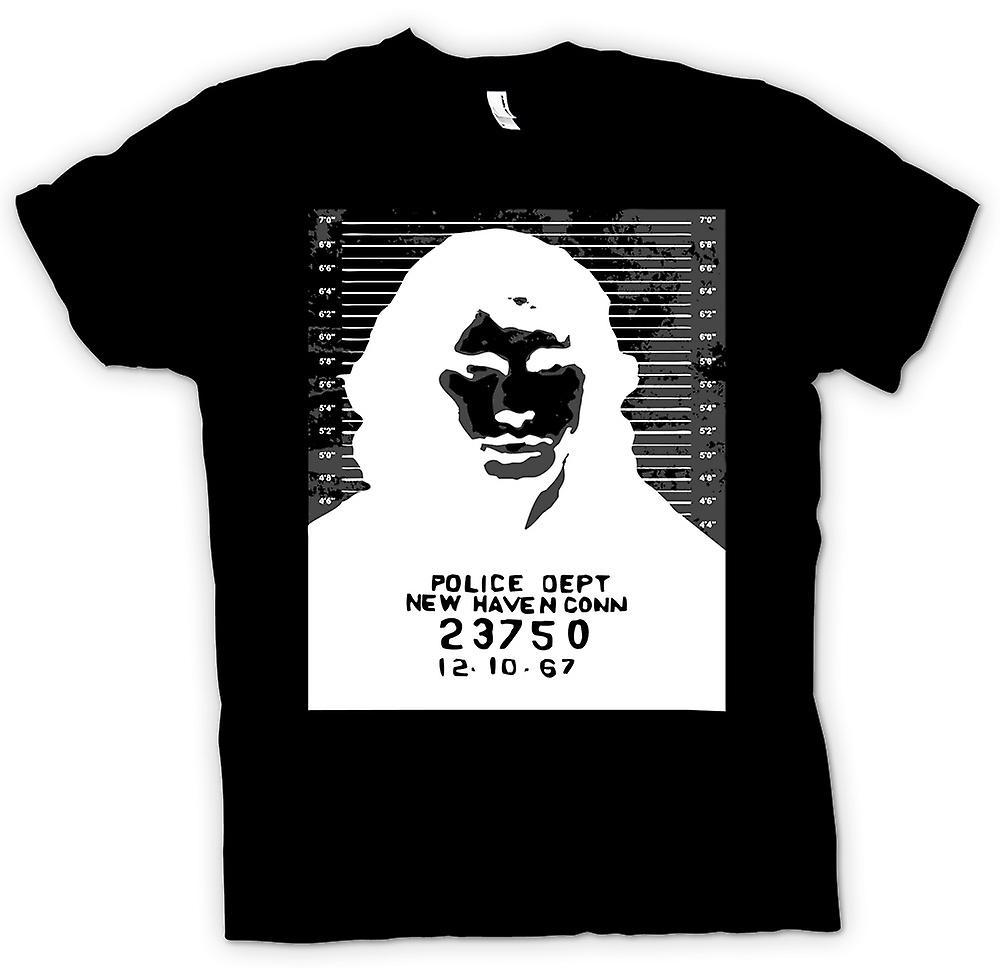 Womens T-shirt -  Jim Morrison - Doors - Mug Shot - Rock