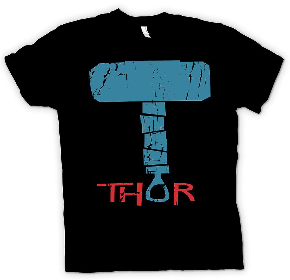 Mens t-shirt-martello di Thor