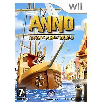 Anno Create A New World (Nintendo Wii)